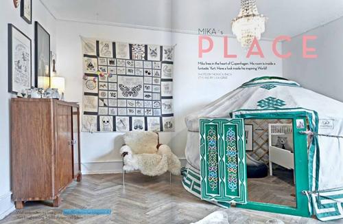 Dormitorio infantil de Mika en Copenhagen