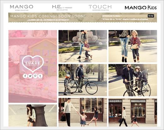Mango Kids, disponible el 18 de Julio