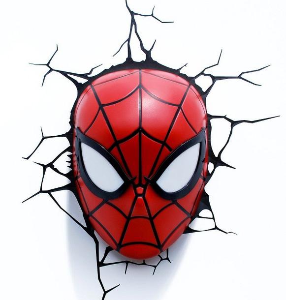 ¡Llegan las súper lámparas Marvel 3D!