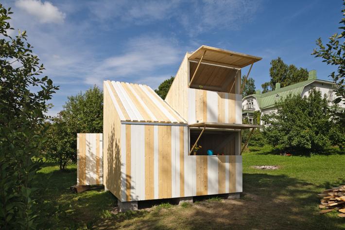 Espacios Cool para Niños… Erase una vez una casita de madera