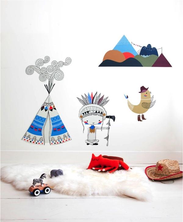 Los nuevos vinilos decorativos infantiles de Swantje y Frieda