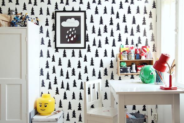 Una habitación nórdica con mucho encanto