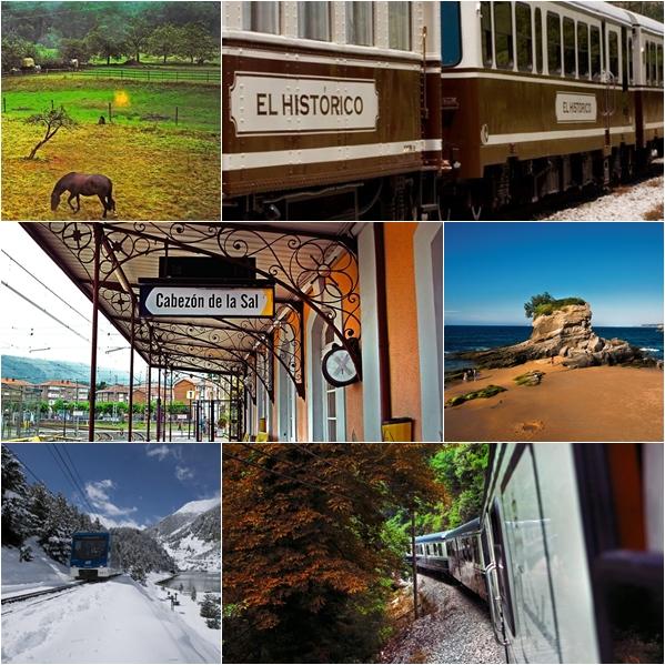 Niños al tren!… Rutas en tren por el Norte de España
