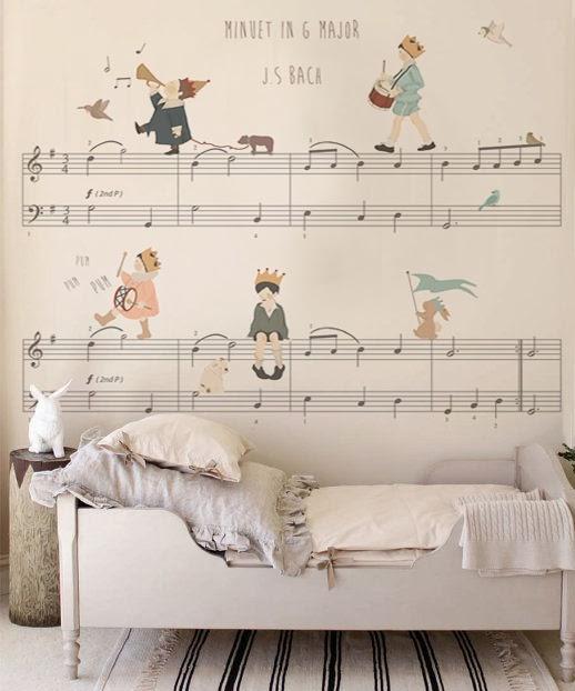 Murales infantiles de ensueño, hechos a tu medida