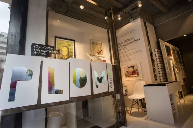 PLOM Gallery Barcelona. El arte tambien es cosa de niños.
