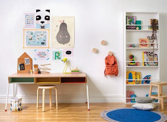 Una habitación infantil muy actual