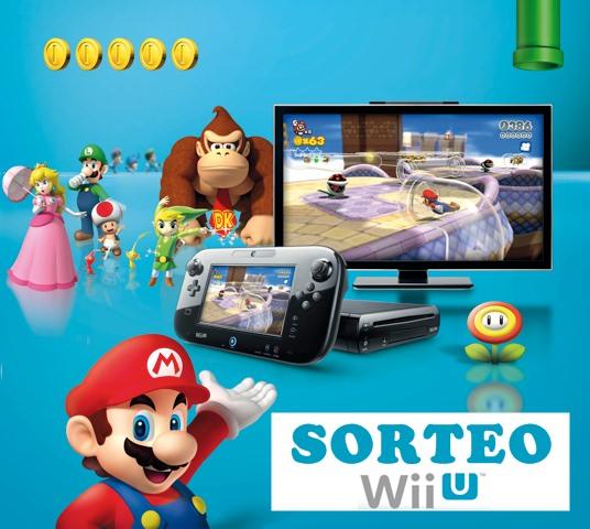 ¡SORTEO NINTENDO! Dos Consolas Wii U con Nintendo Land