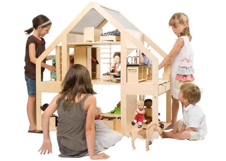 Liliane Dolls Villa. Una casa de muñecas para soñar.