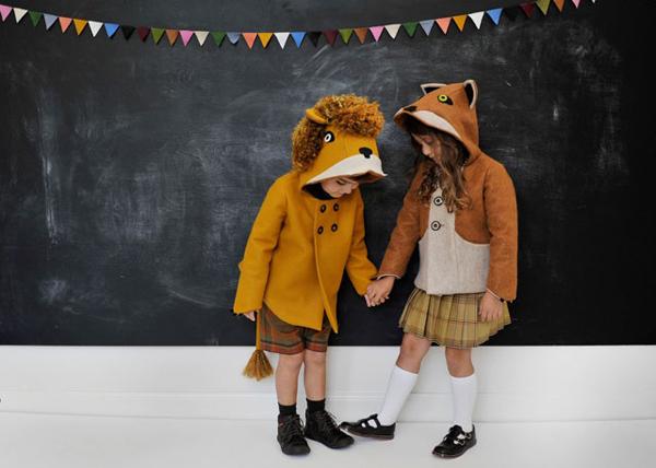 Los divertidos abrigos de animales de Little Goodall