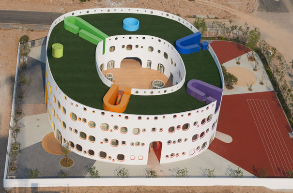 """""""Loop"""", una guardería circular en China"""