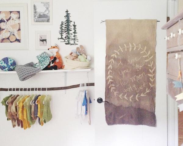 Batik en la habitación de los niños