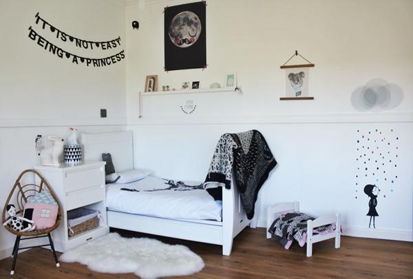 Las habitaciones de Amélie y Esmée
