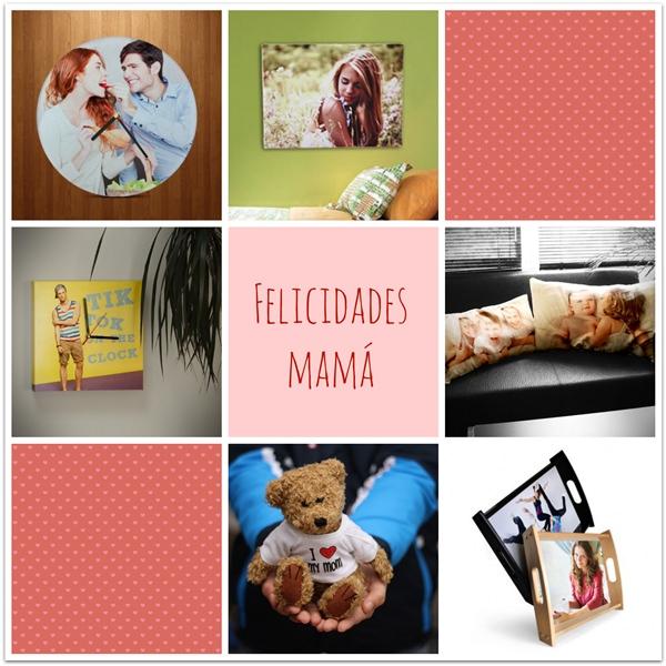 Regalos personalizados para el día de la madre con Imagento