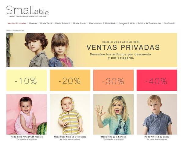 Hasta el 40% de descuento en Smallable… ¡Solo hasta Hoy!