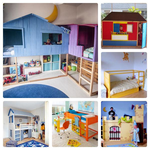 9 ideas para personalizar la cama Kura de Ikea | DecoPeques