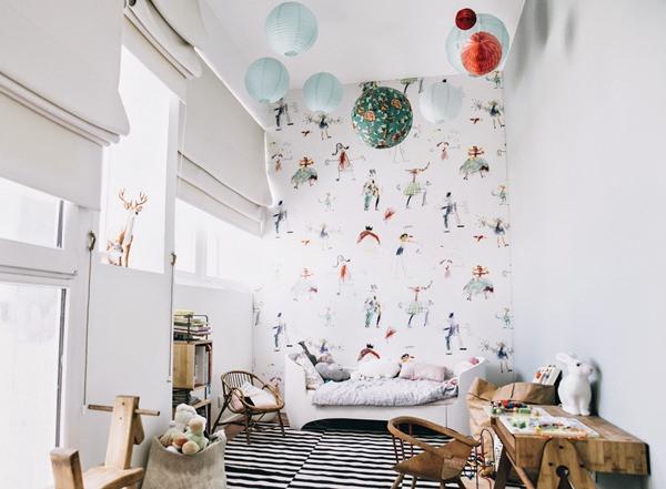 El dormitorio infantil de Brune