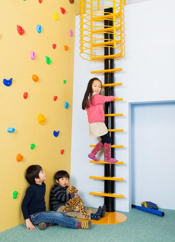 Kidslofty, unas escaleras diferentes para niños