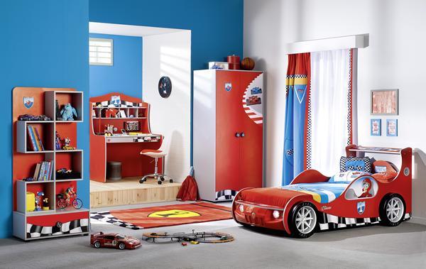 Cilek, dormitorios infantiles temáticos – Habitación coche deportivo