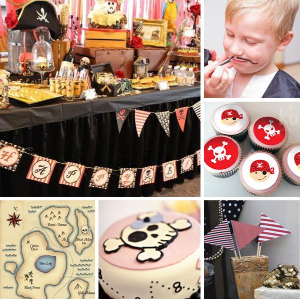 Ideas para una fiesta pirata…¿Por dónde empezar?