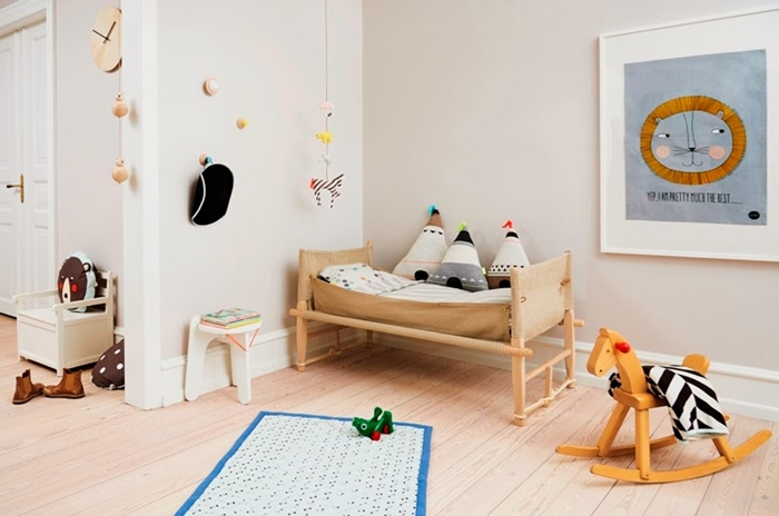 Ambientes infantiles nórdicos que enamoran