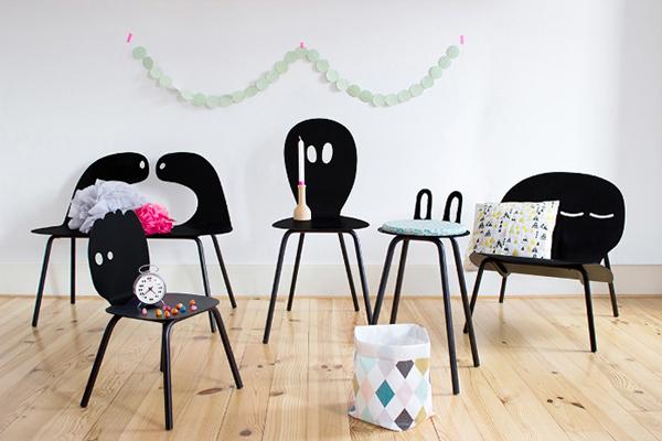 Lunatiques, la familia de sillas más divertida