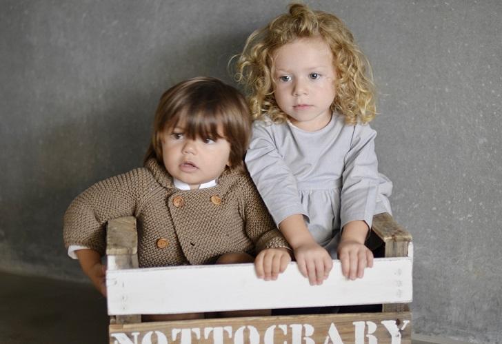 Nottocbaby: el encanto de la ropa orgánica y las cunas vintage