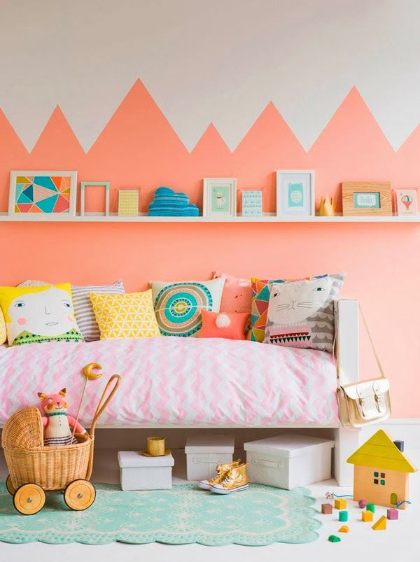 Jugando con los colores: 8 habitaciones infantiles decoradas con pintura