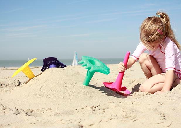 Juguetes para playa de Quut