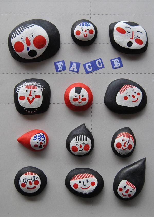 Manualidades con Piedras. 4 Ideas para pintar y decorar.