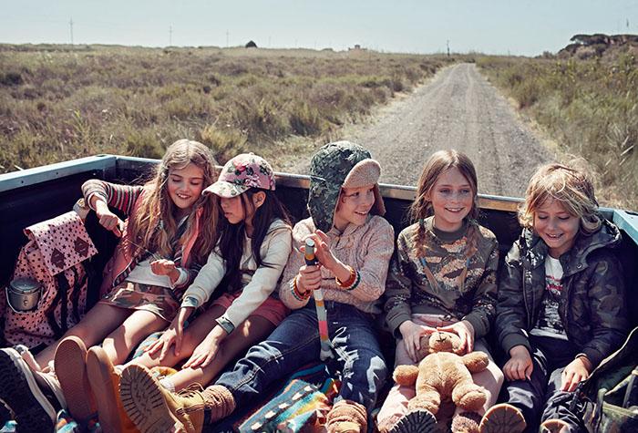 El estilo aventurero de la nueva colección de Mango  Kids otoño-invierno 14/15