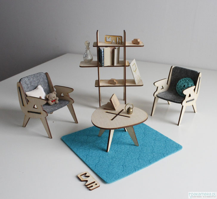 Mali, mobiliario de juguete para mentes constructoras