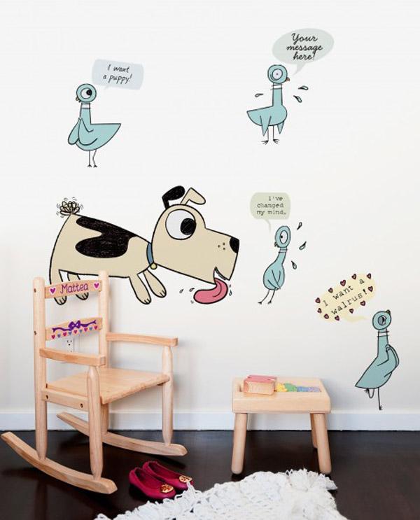 Mo Willems plasma sus historias en tu pared