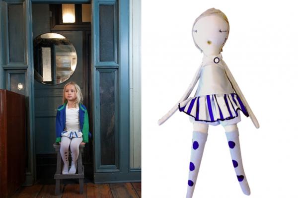Las muñecas personalizadas de Wovenplay y Jess Brown