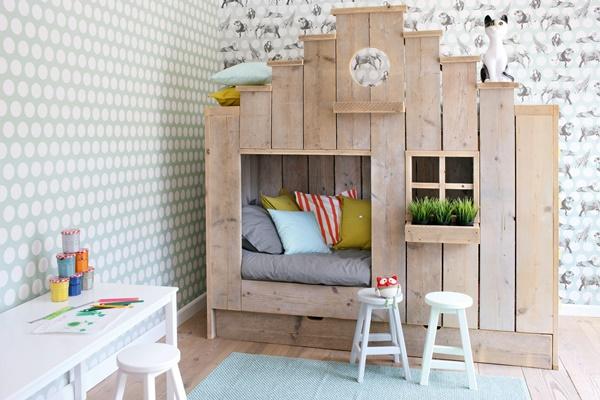 Las paredes más cool para el dormitorio de los peques