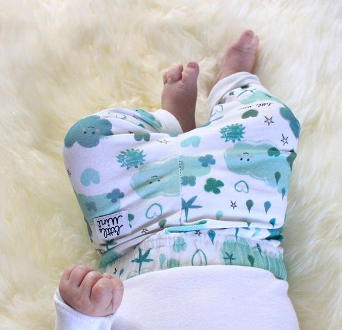 Little mini, prendas de algodón orgánico para bebés