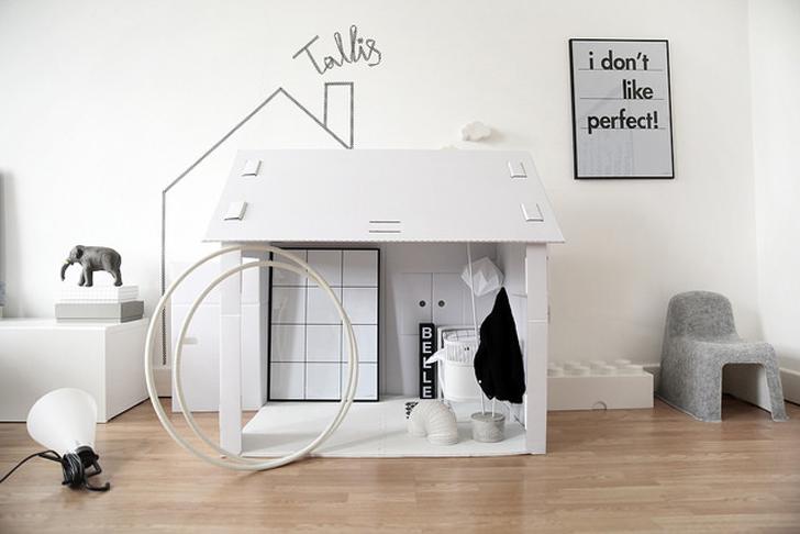 Una casa de juegos de estilo minimalista
