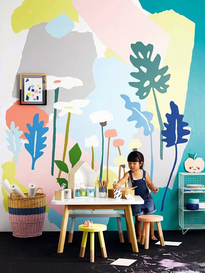 3 murales infantiles ideales para tu pared