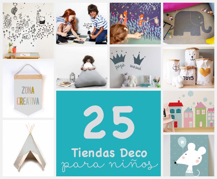 24 encantadoras tiendas online de decoración para niños