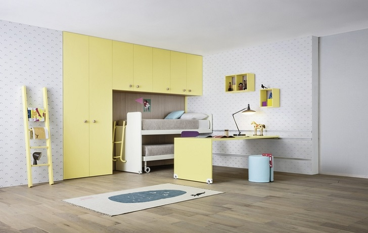 Habitaciones juveniles y muebles modulares infantiles for Muebles infantiles juveniles