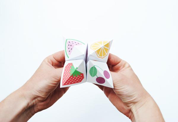 Jugando a adivinar el futuro con origami