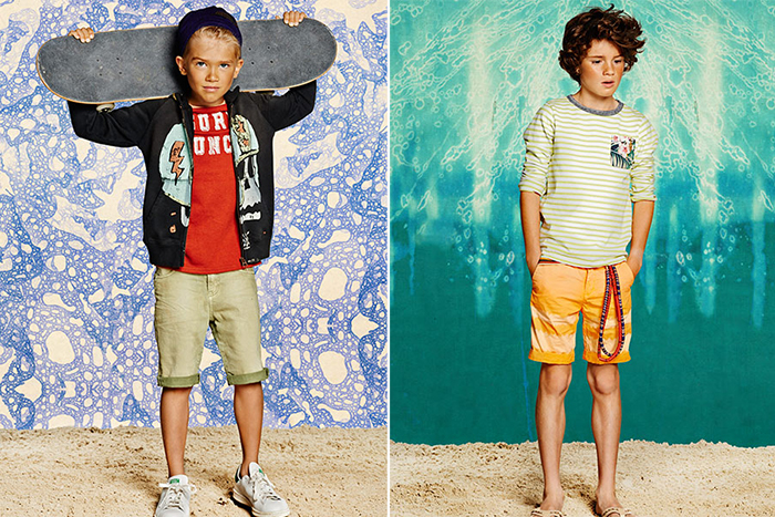 Scoth& Soda SS15: color y originalidad
