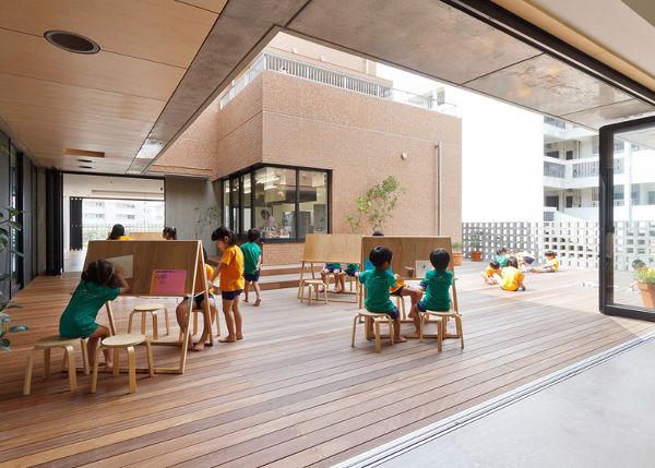 Espacios cool: Guardería de diseño en Japón