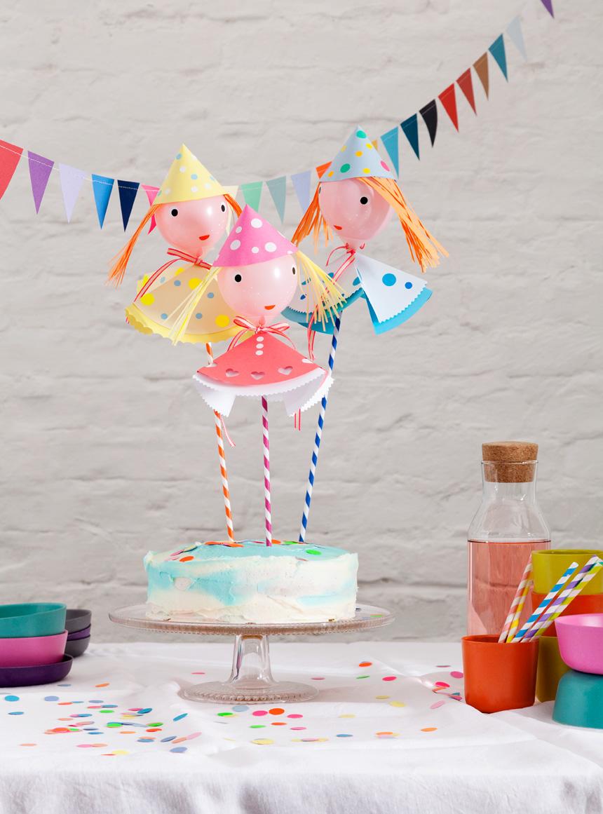 5 Increíbles Ideas con globos para fiestas de cumpleaños