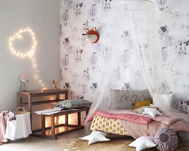 Dormitorios románticos para niñas | DecoPeques
