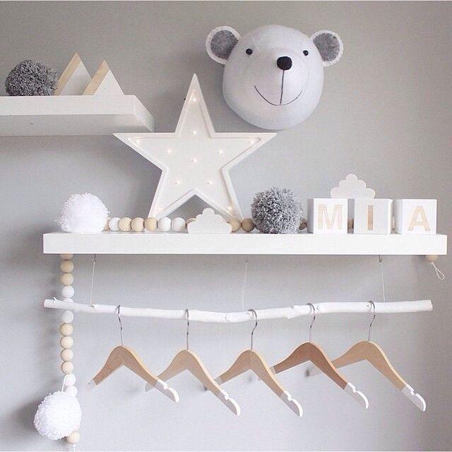 Tendencias en decoración infantil: Letras luminosas decorativas