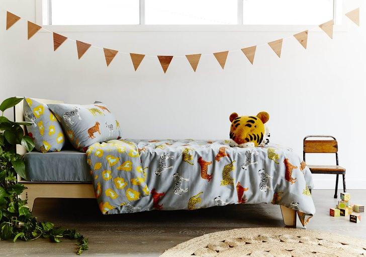 Inspiración textil, las fundas nórdicas infantiles más coloridas