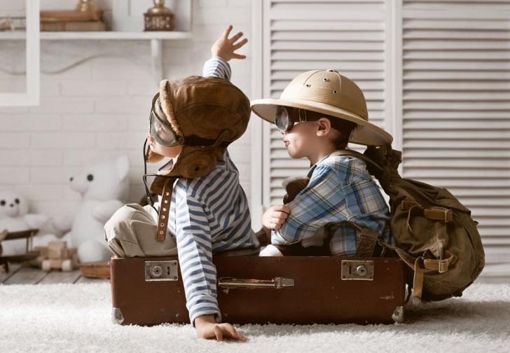 Kit de viaje para mantener entretenidos a los niños