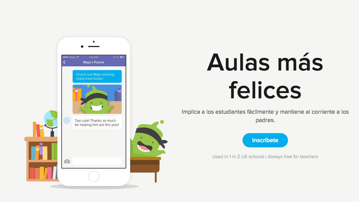 App para que padres y profesores se comuniquen