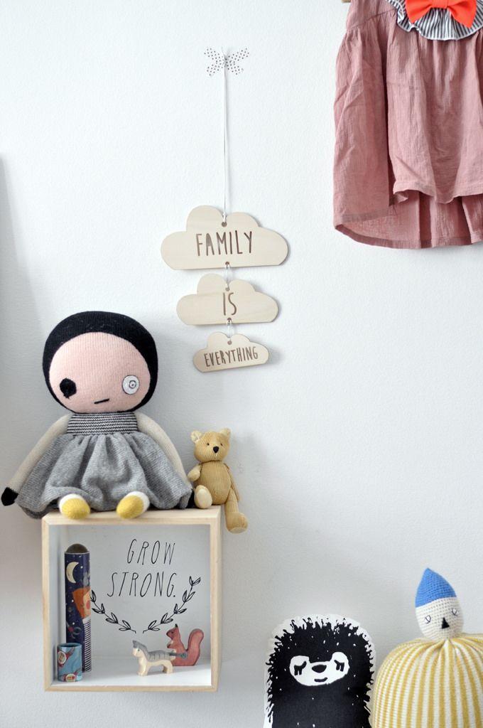6 Cajas Estanterías DIY para Dormitorios infantiles