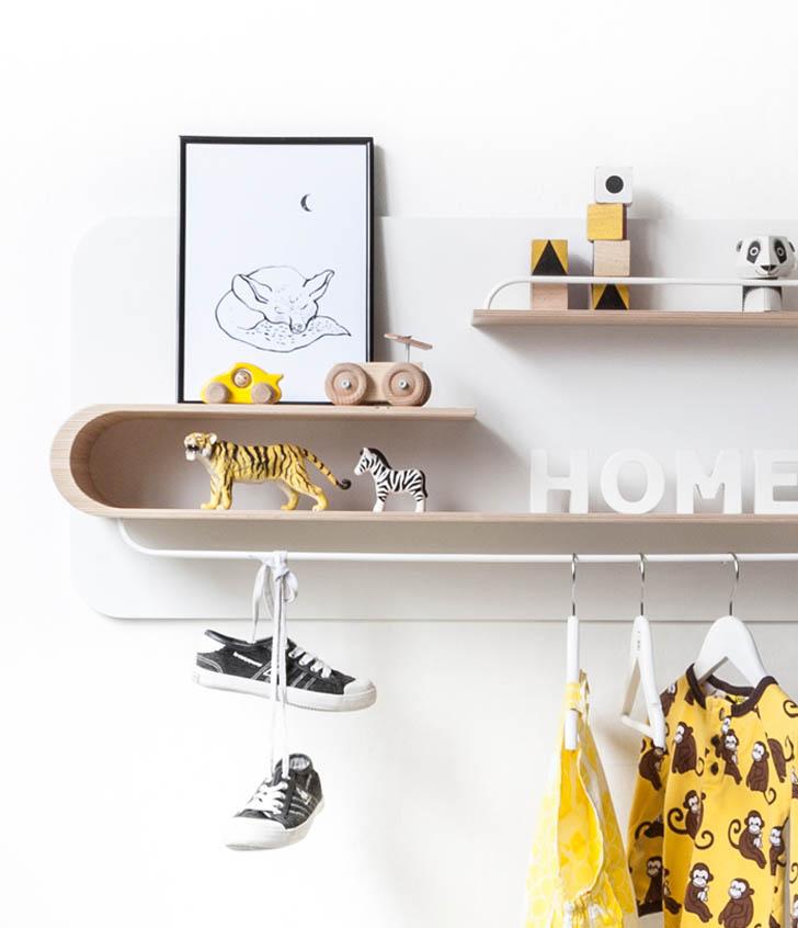 Nuevos estantes Rafa-Kids con diseño escandinavo